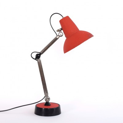 Super Chrome desk lamp from the fifties by unknown designer for unknown producer