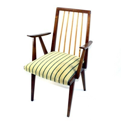 Set of 6 Lübke dining chairs, 1950s