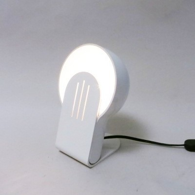 White Panda desk lamp by Ambrogio Pozzi for iGuzzini, 1970s