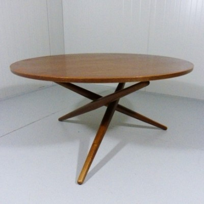 Ess-Tee dining table by Jürg Bally for Wohnhilfe, 1950s