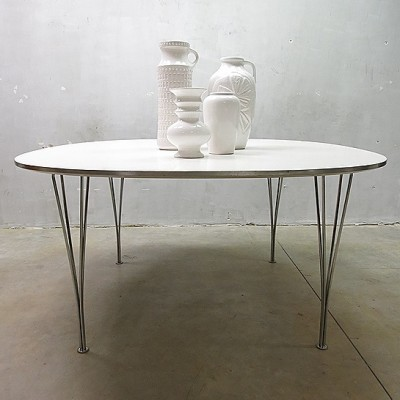 Dining Table by Piet Hein and Bruno Mathsson for Fritz Hansen