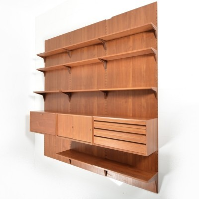 Royal wall unit by Poul Cadovius for Cado, 1960s