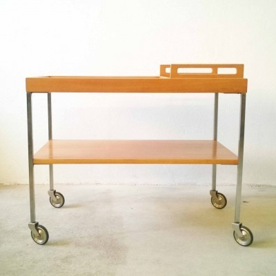 Serving trolley from the sixties by Wilhelm Renz & Walter Wirz for Wilhelm Renz