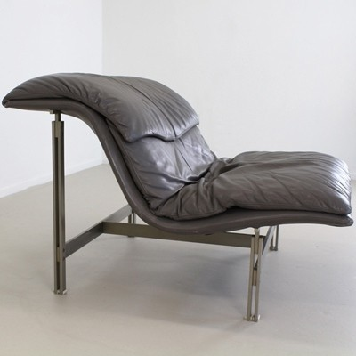 Lounge chair by Giovanni Offredi for Saporiti, 1980s