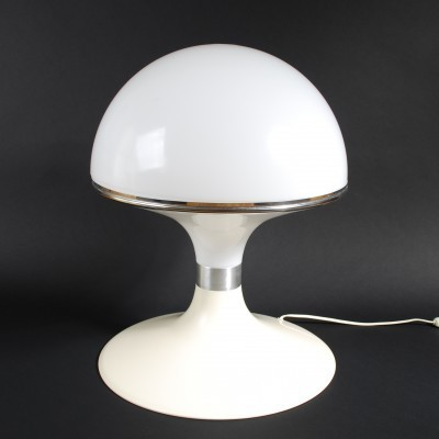 White desk lamp by Dadime, 1960s