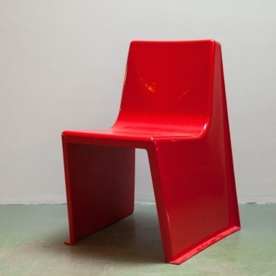 2 dinner chairs from the sixties by unknown designer for unknown producer