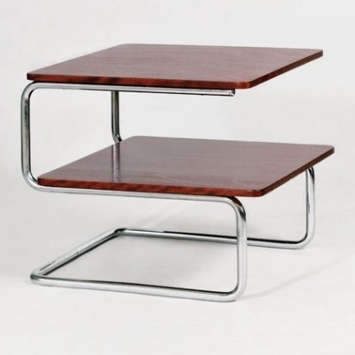 K 407 coffee table from the thirties by unknown designer for Mücke Melder