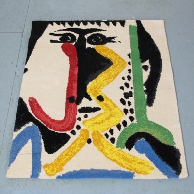 Rug art from the thirties by Pablo Picasso for Desso
