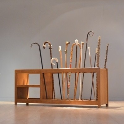 Walking Sticks Storage cabinet from the fifties by unknown designer for unknown producer
