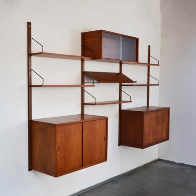 Poul Cadovius wall unit, 1960s