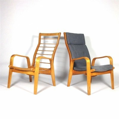 2 FB-06 Birch Series lounge chairs from the fifties by Cees Braakman for Pastoe