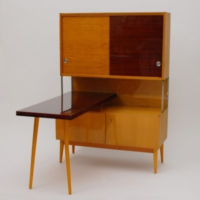 Wall unit from the sixties by unknown designer for Jitona Soběslav