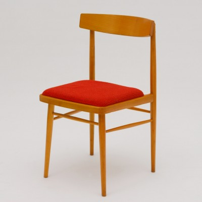 4 dinner chairs from the sixties by unknown designer for Ton