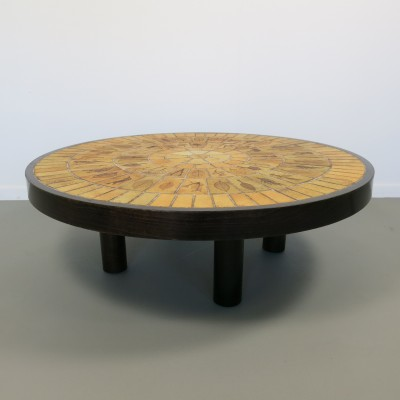 Coffee table by Roger Capron for Vallauris, 1960s