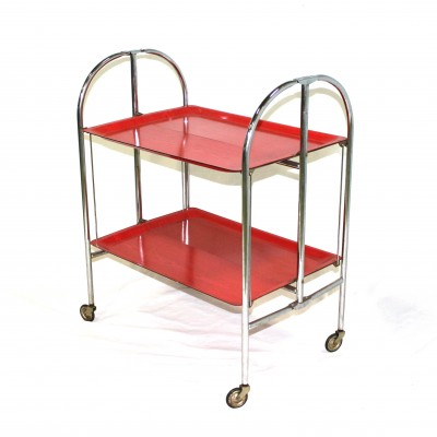 Dinett serving trolley by Bremshey, 1960s