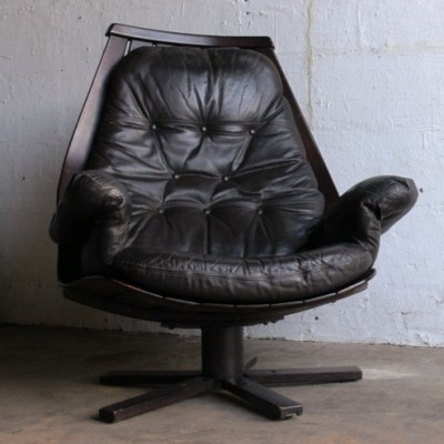 Lounge chair by Hans Brattrud for Hove Möbler, 1950s