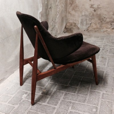 Lounge chair by Ib Kofod Larsen for Christensen & Larsen, 1950s
