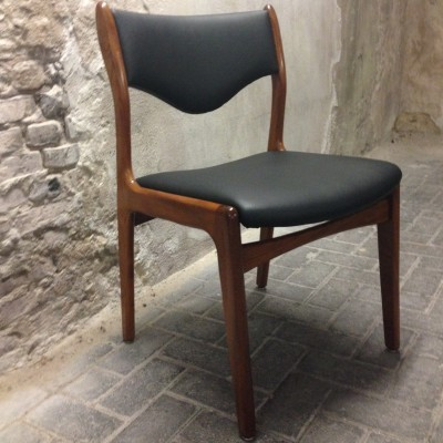 Dinner chair by Johannes Andersen for MahJongg Alkmaar, 1960s