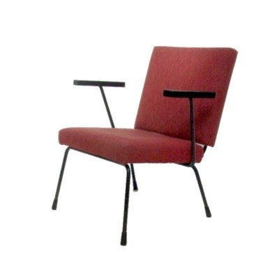 Lounge chair by Wim Rietveld & André Cordemeyer for Gispen, 1950s