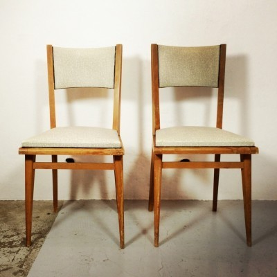 Pair of vintage dinner chairs, 1950s
