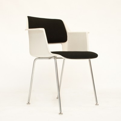 4 model 2215 dinner chairs from the sixties by André Cordemeyer for Gispen