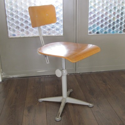 Office chair from the sixties by Friso Kramer for Ahrend de Cirkel