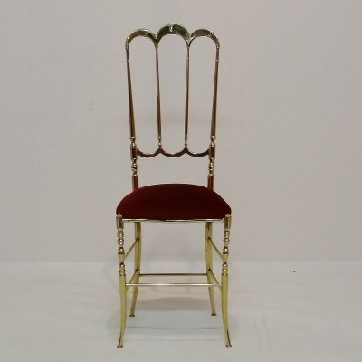 Dinner chair from the fifties by unknown designer for Chiavari