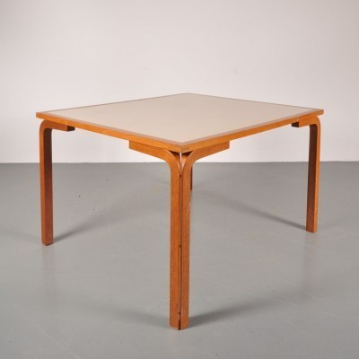 6 x dining table by Rud Thygesen & Johnny Sorensen, 1970s