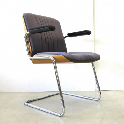 4 x office chair by Martin Stoll for Stoll Giroflex, 1970s