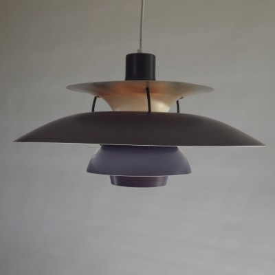 PH 5-6 hanging lamp by Poul Henningsen for Louis Poulsen, 1960s