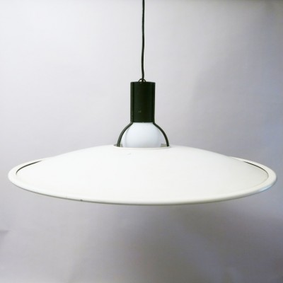 Chandelier 2133 hanging lamp from the seventies by Gino Sarfatti for Arteluce