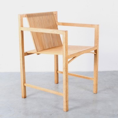 Latjes Stoel dinner chair by Ruud Jan Kokke, 1980s