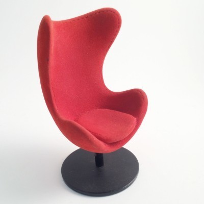 Toy Egg Chair from the sixties by Arne Jacobsen for unknown producer
