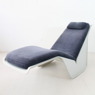 2 x Serpentina daybed by Burkhard Vogtherr for Rosenthal, 1970s