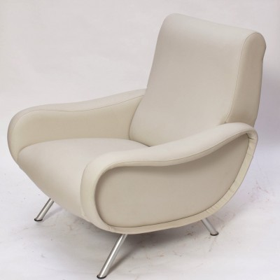 Lady Armchair lounge chair by Marco Zanuso for Arflex, 1950s