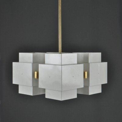 C769 4 P Selectra hanging lamp by Hans Agne Jakobsson, 1960s