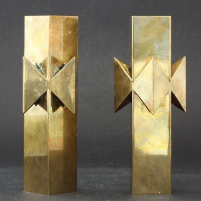 Candlesticks by Pierre Forsell for Skultuna, 1960s