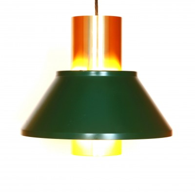 3 Life hanging lamps from the seventies by Jo Hammerborg for Fog & Mørup