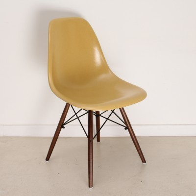 3 x DSW dining chair by Charles & Ray Eames for Herman Miller, 1950s
