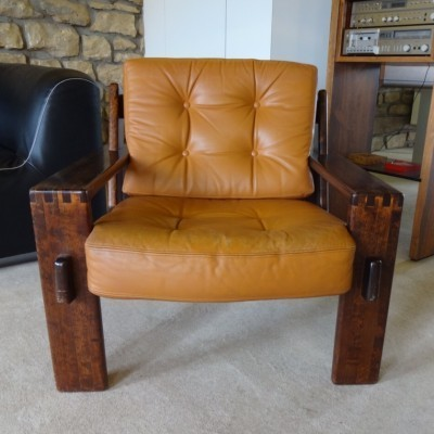 Bonanza lounge chair from the sixties by Esko Pajamies for Asko