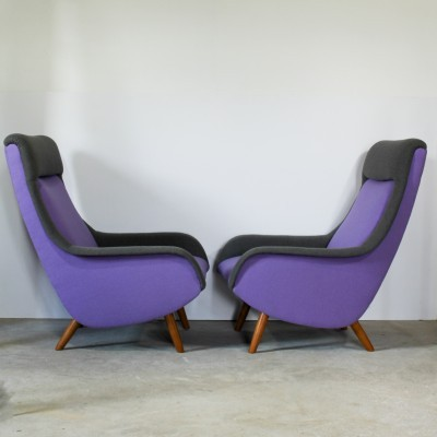 Set of 2 lounge chairs from the sixties by Bengt Ruda for Artifort