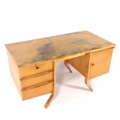 EB04 writing desk by Cees Braakman for Pastoe, 1950s