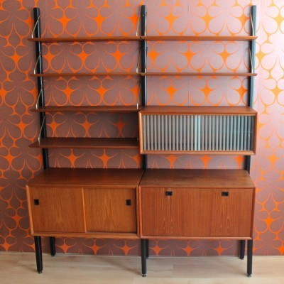 Wall unit from the sixties by Louis van Teeffelen for Wébé