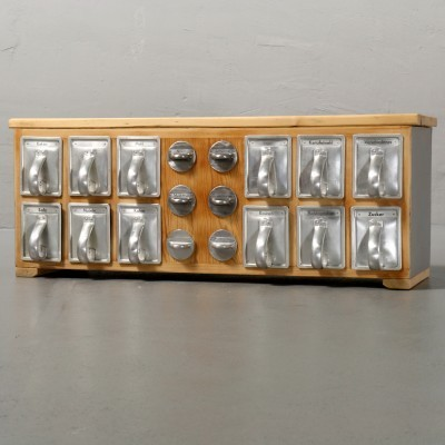 Frankfurt Kitchen wall unit by Margarete Schütte Lihotzky, 1950s