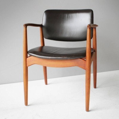 Dining chair by Erik Buck for Ørum Møbler, 1950s