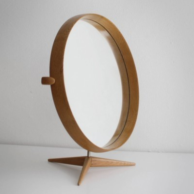 Mirror by Uno & Östen Kristiansson for Luxus, 1960s