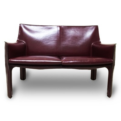 CAB 415 sofa from the sixties by Mario Bellini for Cassina