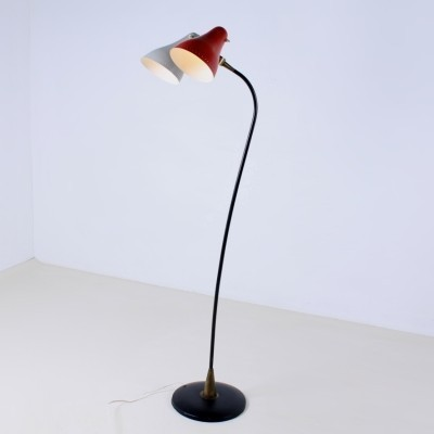 Floor lamp from the fifties by J. Hoogervorst for Anvia Almelo