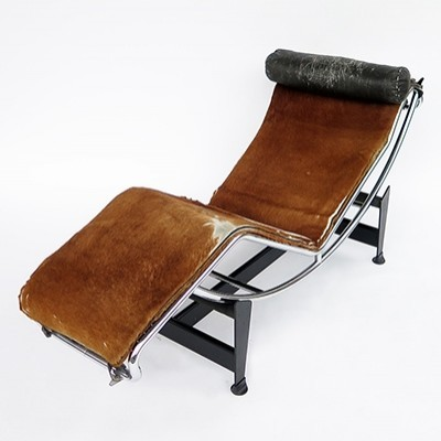 LC4 lounge chair from the sixties by Pierre Jeanneret for unknown producer