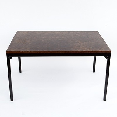 Dining table from the fifties by Dieter Waeckerlin for Idealheim